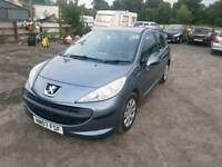 Peugeot 207 S hdi 1.6Ldiesel 2007 1 year mot full service history excellent condition