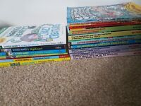 8 x captain underpants books and 6 x horrid henry books