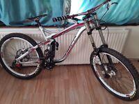 Downhill moutain bike