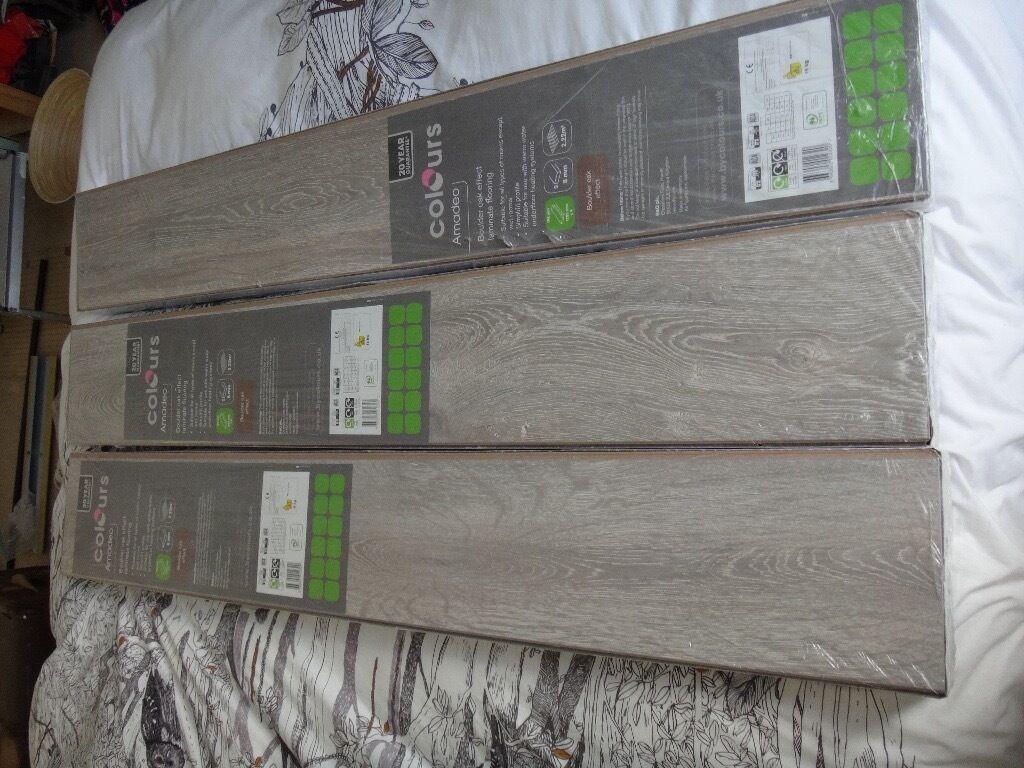 Laminate Flooring B Q Colours Range Amadeo 6 66m2 X3 Unopened Packs