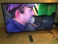 """43""""SAMSUNG SMART 4K LED UHDR 2060P TV"""