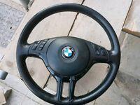 Bmw 46 steering wheel