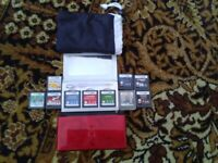 Nintendo DS lite - Rare Japanese red + black edition with dragon desig