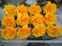 Artificial Roses x 70 yellow flower heads