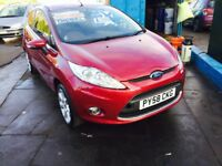 DIESEL LOW MILEAGE FORD FIESTA 1.3 TDCI MOT 21 NOVEMBER 18 £20 A YEAR ROAD TAX