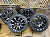 "20"" Genuine Land Rover/Range Rover VW T5/T6 Transporter alloy wheels/tyres 275/45/R20"