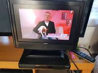 14inch tv and freeview box