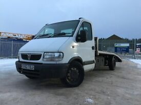 Vauxhall movano 2.5 recovery truck
