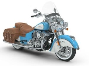 2018 Indian Motorcycles Chief Vintage Sky Blue/Pearl White
