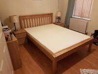 Beautiful Wooden Double bed frame (only 6mths old)