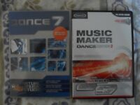 Dance eJay 7 and Magix Music Maker Dance Edition 2 music creation programmes