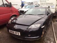 Mazda RX-8 petrol 6 speed Gearbox 2006 year Parts Available