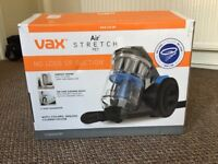 Used couple of times still new Vax air stretch pet cylinder vacuum cleaner