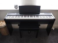 Yamaha P-105 Digital Piano - Full Set (including L85 stand, FC4 sustain pedal, stool)