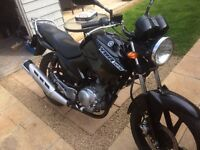 Ybr125 2011 9k 12 months mot very clean