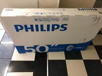 "Phillips TV 50"" Ultra Ready"