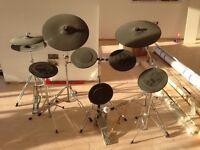 8piece practice drum pads