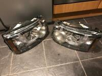 Land Rover Discovery 4 2010 headlights pair