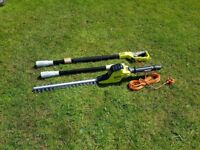 Ryobi RPT4545M 450w Extended Reach Pole Hedge Trimmer. Brand new