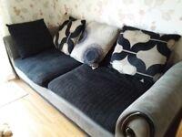 4 Seater Sofa & Armchair - free