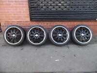 """22"""" WOLFRACE ALLOY WHEELS AND TYRES SET OF 4"""