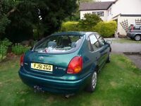 Toyota Corolla GS 1.4 VVTI 2001, Runs Perfect, 1 owner last 12 yrs, license surrendered (health) MOT