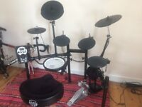 TD-11 Roland Drumkit with Mapex Stool, bought in 2015, worth £700+ new today (stool, kick pedal&kit)