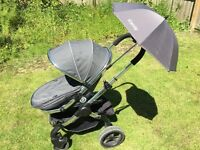 iCandy Peach 3 Infant Travel Solution - Stroller / Carrycot / Pushchair / Car Seat - Truffle Colour