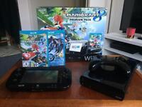 Nintendo Wii U 32GB Premium Pack + Pro Controller + Games