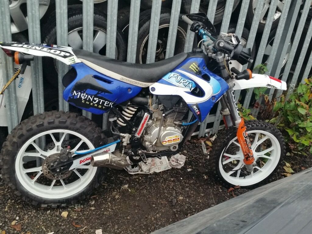 125 Reg As 50 Dirt Bike Road Legal Supermoto Not Pitbike Ktm