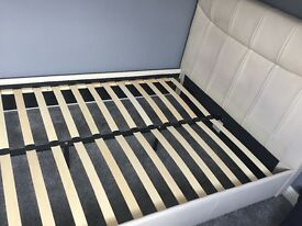 Double bed with built in speakers