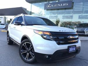 2014 Ford Explorer 2owners Nav AWD Btooth Sroof