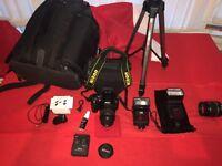 nikon d40 digital camera set
