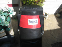 LONSDALE BOXING BAG WITH GLOVES AND PADS
