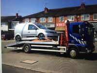 VEHICLE RECOVERY CAR VAN DELIVERY CARAVAN BOAT DELIVERY TRANSPORT CRANE HIRE