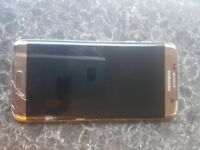 Samsung s7 edge cracked front screen