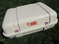 FIAMMA ULTRA BOX WITH KEY IDEAL MOTOR HOME OR AS A LARGE ROOFBOX FOR CAR VAN ETC