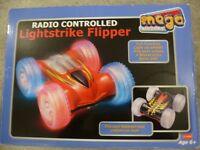 Radio Controlled Lightstrike Flipper.