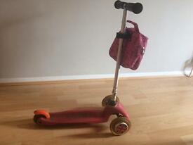 Mini micro scooter - pink