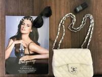 3 CHANEL across body mini bags- can be worn as belt bags-festivals or days out