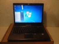 Perfect hp laptop/ RAM2GB/ BRAND NEW BATTERY/windows 7/office2013/grab a bargain