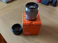 Sony SEL50F18 E 50mm f 1.8 OIS Prime Lens