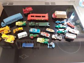 vintage toy cars lesney ect