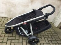 Phil and Ted Vibe double buggy with accessories