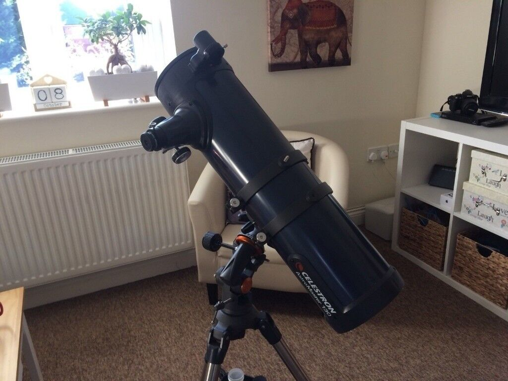 Celestron astromaster 130eq reflector telescope in bournemouth