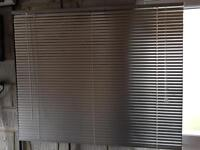 Venetian Blinds - Silver. Various Sizes, see ad for details and prices.