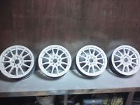 "Light weight 15"" alloy wheels 4 stud multi fit"