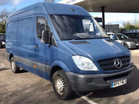 MERCEDES-BENZ SPRINTER 2.1 211 CDI MWB 1d 109 BHP 1 PREVIOUS OWNER, HIGH ROOF FULL SERVICE RECORDS