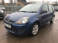 AUTOMATIC 2007 07 REG FORD FIESTA 1.6 AUTO STYLE CLIMATE,1 YEAR MOT,ONLY 75k,ONLY 1 OWNER