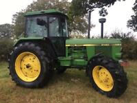 JOHN DEERE 40 AND 50 SERIES TRACTORS WANTED